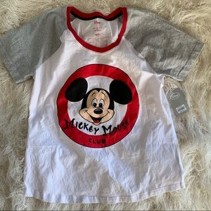 Disney Mickey Mouse Mouseketeer T-Shirt Women's L